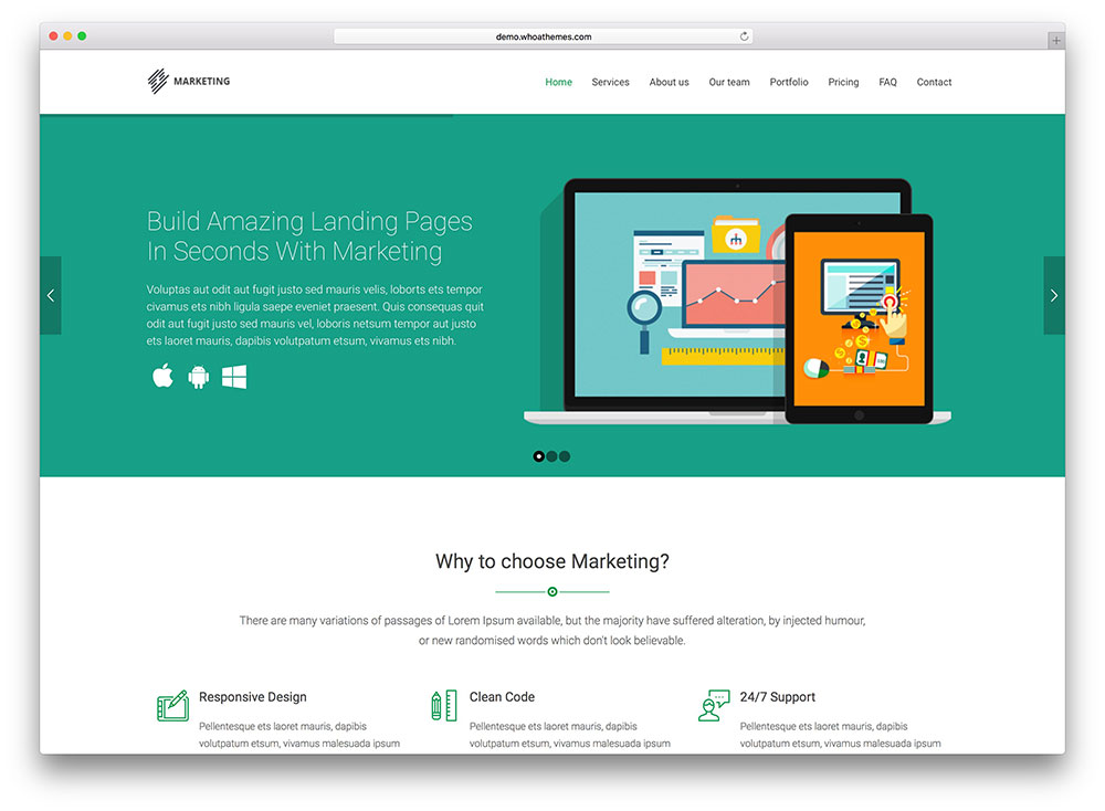 marketing-flat-design-wordpress-theme